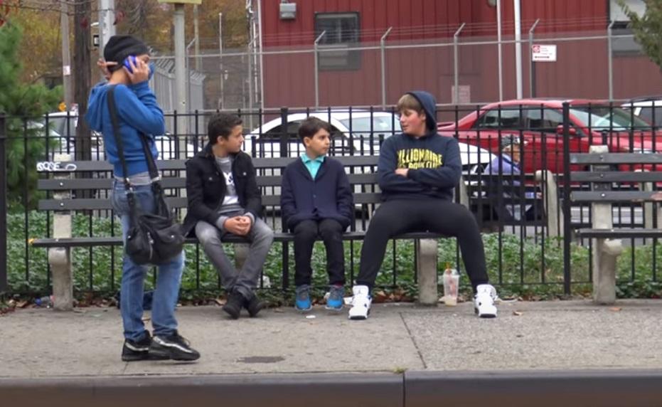 Little Boy, Bullied, Kid, Boy, Little, social, experiment, lesson,