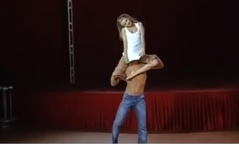Girl, Face, Shirt, amazing, dance, duo, beautiful, ballet, Acrobats,