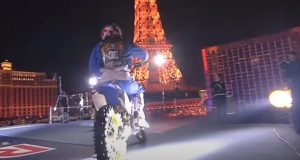 Red Bull, Million, Stunt, Dangerous, dollars, sport, amazing, Mortal, motobike, france, Paris, jump,