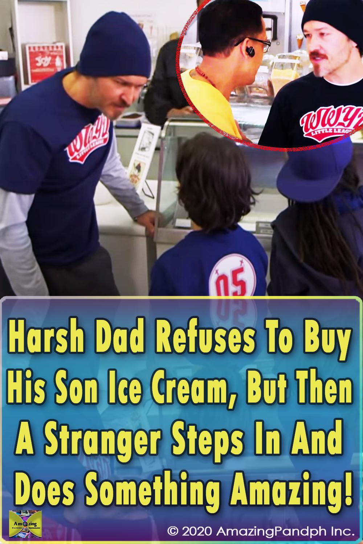 Dad, Son, Ice Cream, Harsh, inspiring, social experiment, social, kids, experiment, prank, hidden camera,
