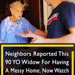 She was reported for her messy home