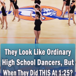 They Look Like Ordinary High School Dancers