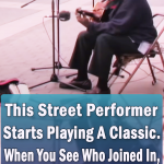 a street performance out of this world