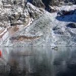 Walking On A Frozen Lake