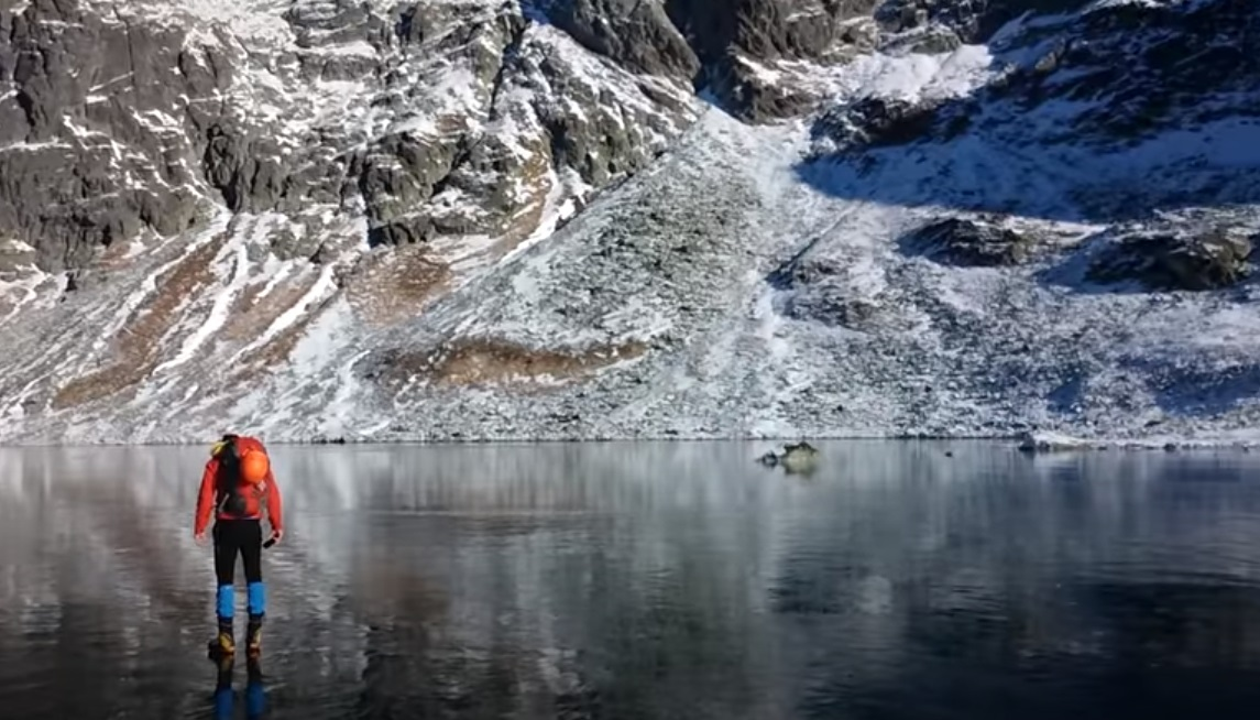 Lake, frozen lake, nature, wonderful, unbelievable, Mountain,