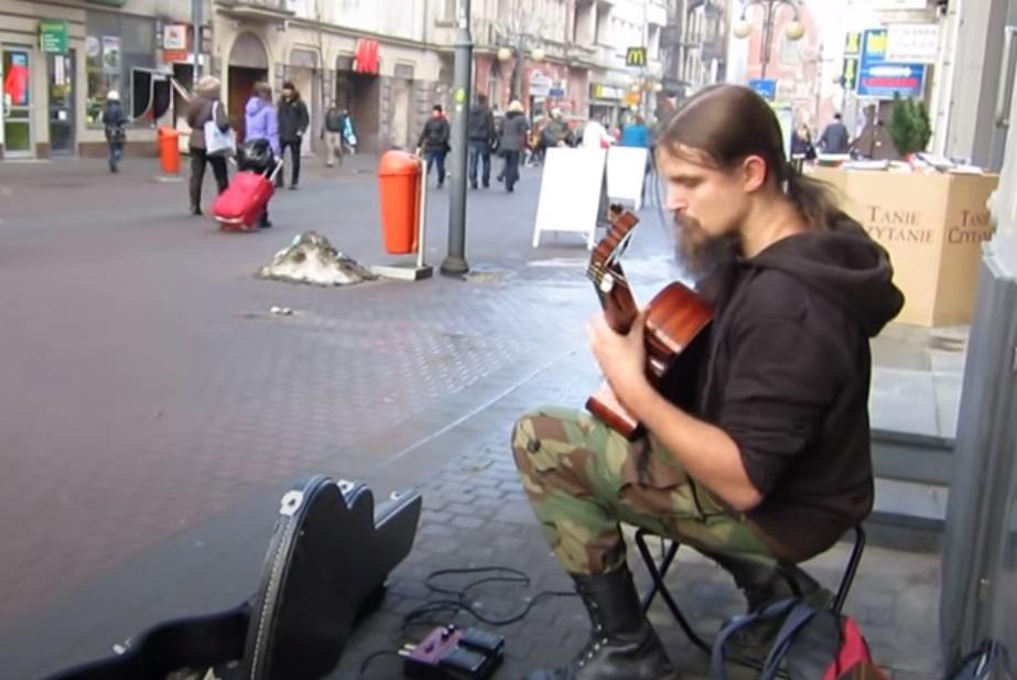 Guitar, talent, Street, skills, amazing, Performance,