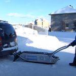 All-terrain Genius Snowmobile