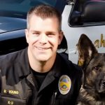 Police Dog Shot in Line of Duty