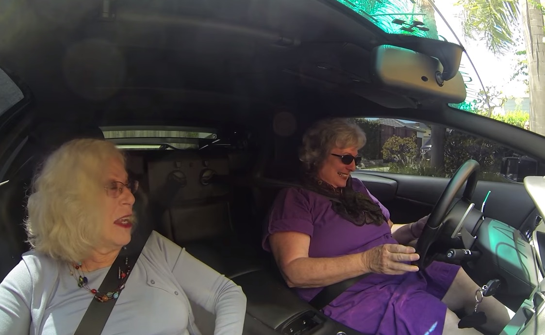 Lamborghini, grannies, Driving, Shopping, trending, cars,