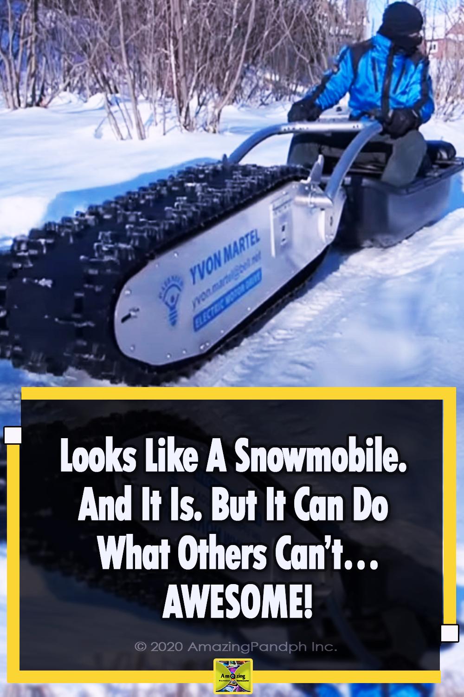 Snowmobile, snow, bike, technology, motocycle, genius,