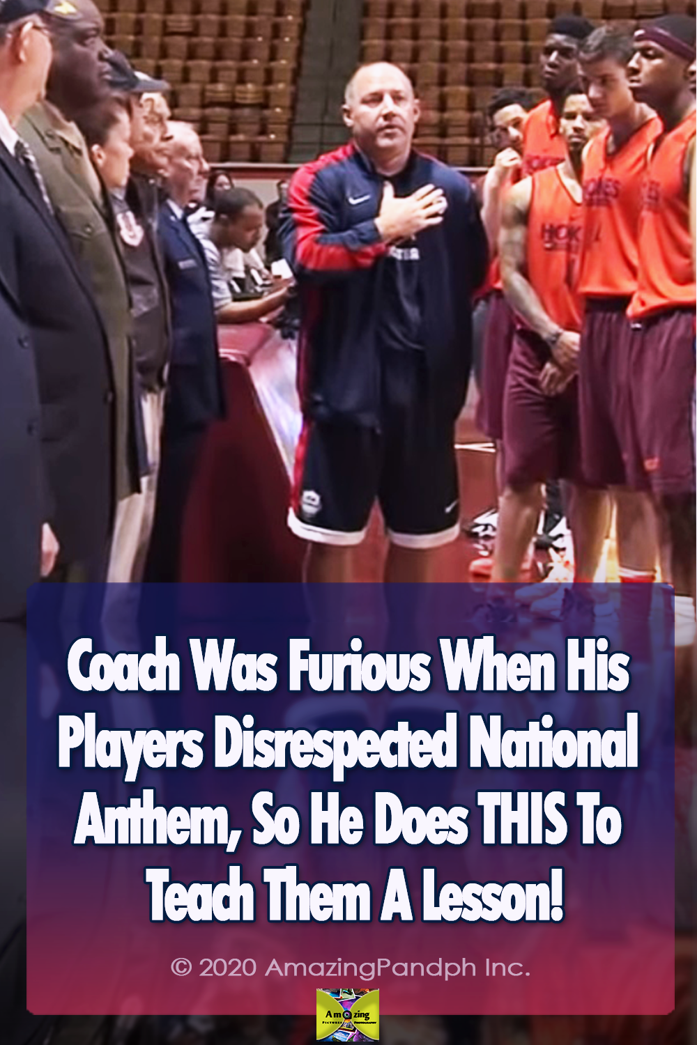 National Anthem, basketball, lesson, respect, team, coach, Players,