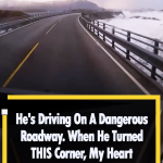 Driving On Norway's Atlantic Road