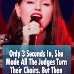 She Made All The Judges Turn Their Chairs