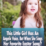 This Little Girl Has An Angelic Voice