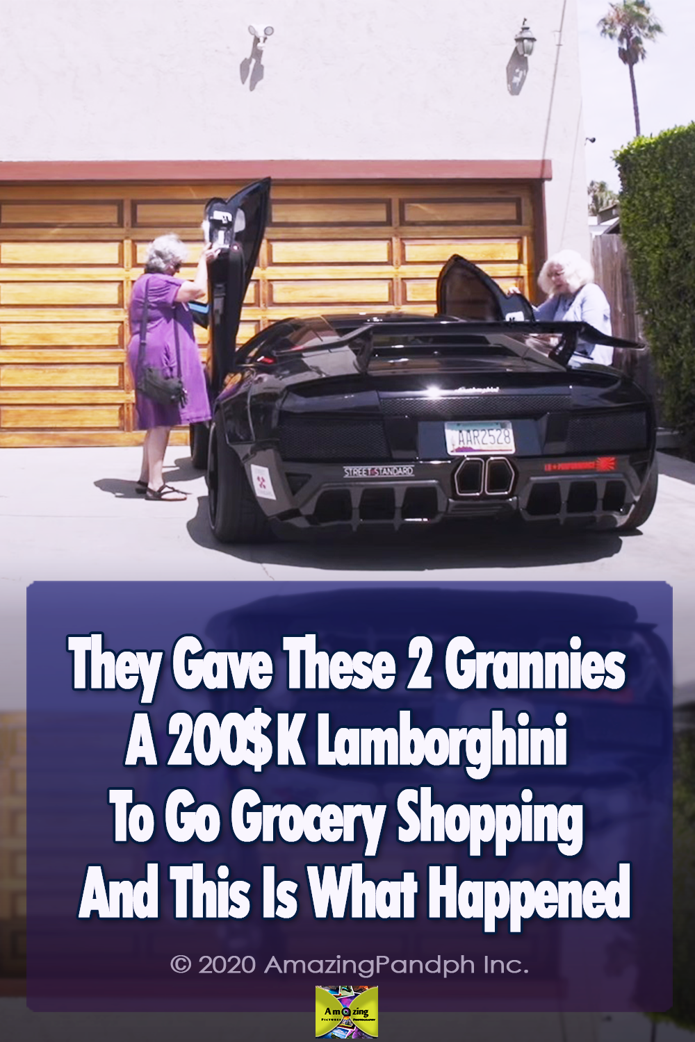 Lamborghini, grannies, Driving, Shopping, trending, cars,