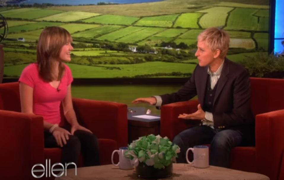 Ellen, Show, guest, girl, house, story,