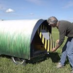 DIY Creative Tiny mobile home for camping