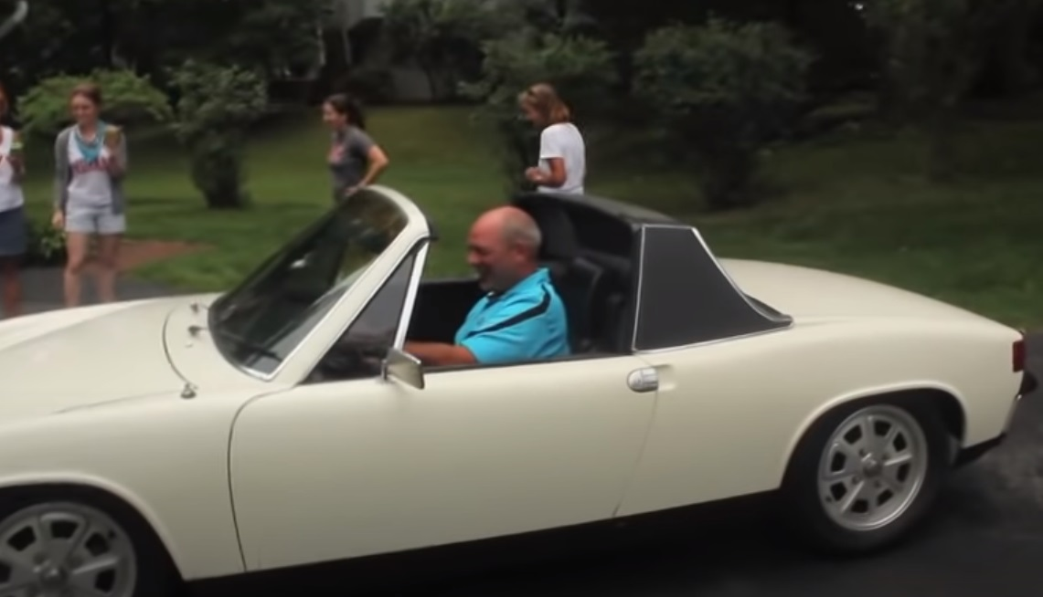 Daughter, father, luxury car, cars, stories, family, memories, wedding, surprise, gifts,