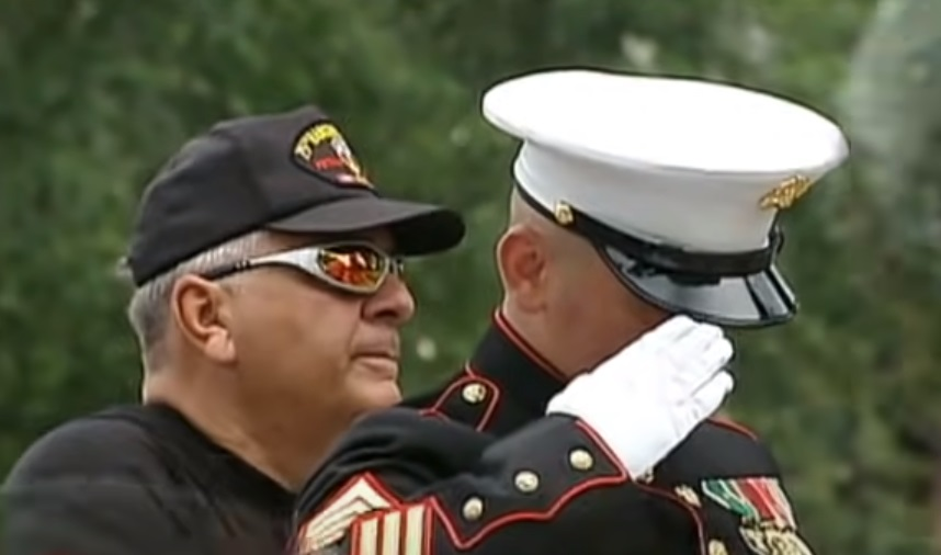 memory, marines, soldier, salute, bikers, honor, USA, patriotic,