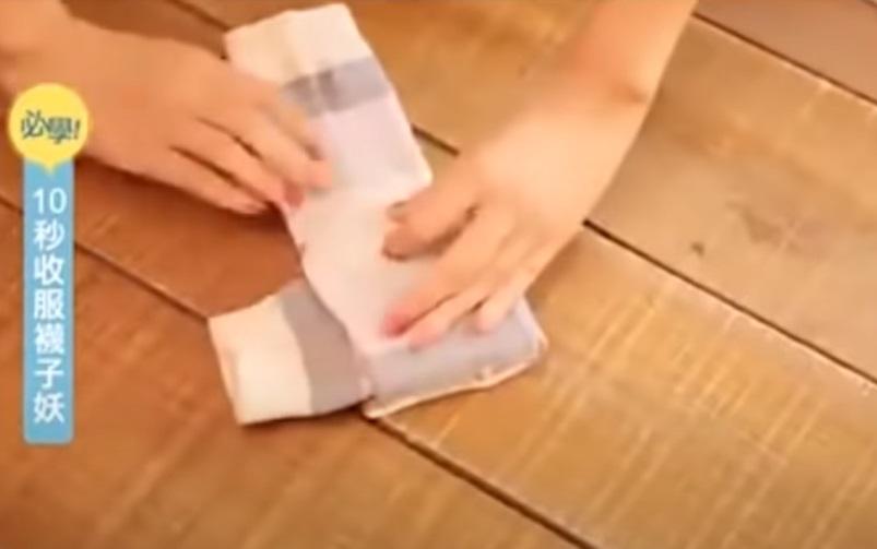 Creativity, trick, genius, socks, hacks, tips, folding,