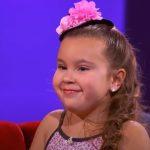 Confident and Brave Little Ballerina