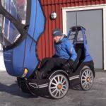 A Genius design of a Tiny Car