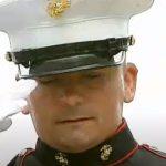 Patriotic Marine Honors Military