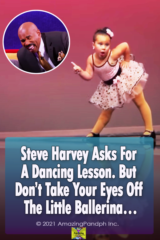 talent, Steve Harvey, Dance, ballet, ballerina, Hilarious, lesson, adorable,