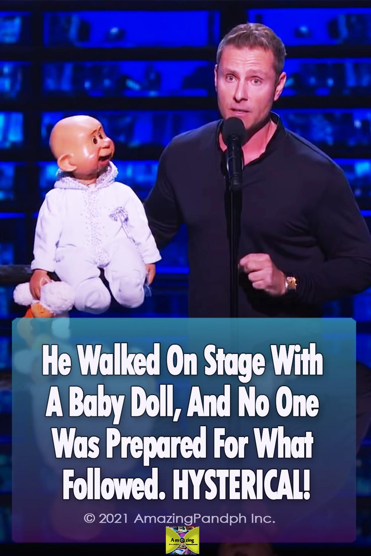 Baby Doll, great talent, AGT, Paul Zerdin, Ventriloquist, Hysterical,