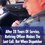 Son gives heartwarming retirement send-off to his dad