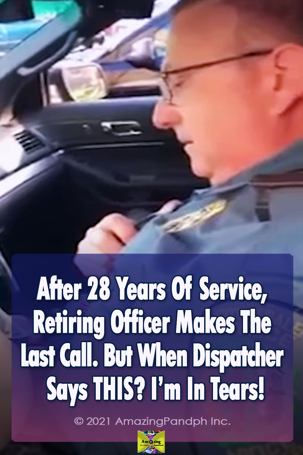 Call, police, Retirement, Retiring Officer, emotion, father, son, family, blue-white-text,