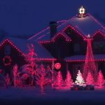 A town was blown away after seeing how one family decorated their house for Christmas