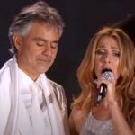Andrea Bocelli and Celine Dion Duet