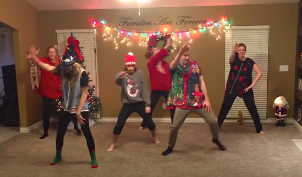 Christmas, Family, Dance, Trending, Surprise, funny,