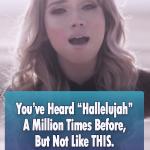 Unique version of Hallelujah by Pentatonix