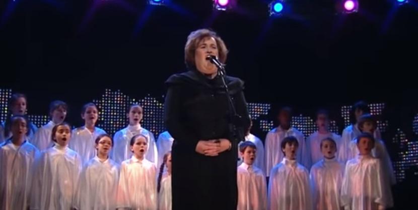 song, Christmas, rendition, performance, song, Susan Boyle,