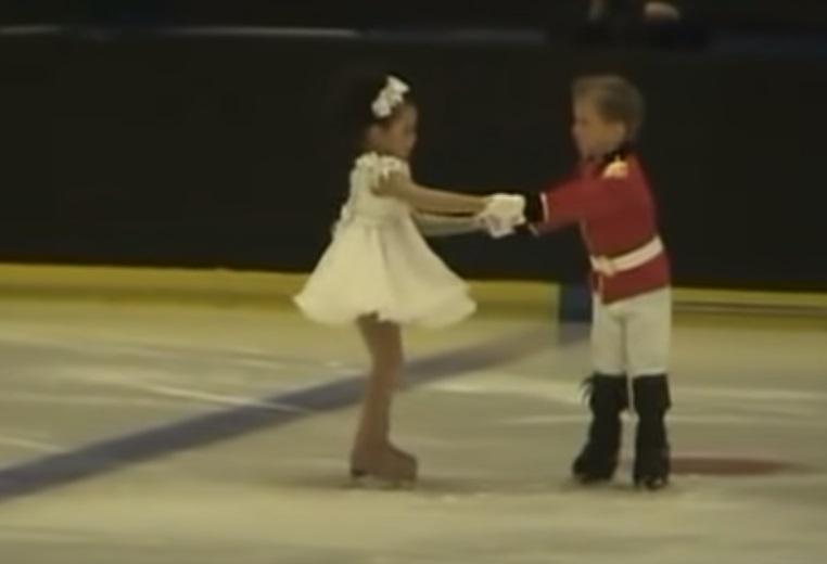 Christmas, skater, talent, dance, performance, adorable,
