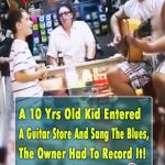 This little boy! I'm SPEECHLESS! #talent #performance #cover #Blues #kidvoice #10years