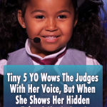 Tiny 5 YO Wows The Judges With Her Voice