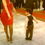 When He Came To The Floor To Dance, This Little Boy Brought The House Down! Marvelous!