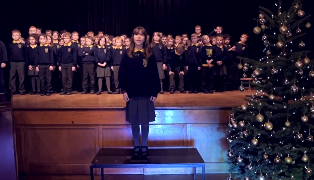 Christmas, Song, Hallelujah, Performance, Kids, Special Needs,