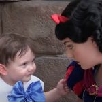 Little Boy Who Affected By Autism Loves Snow White, However, What She Did Next Left His Mom Crying!