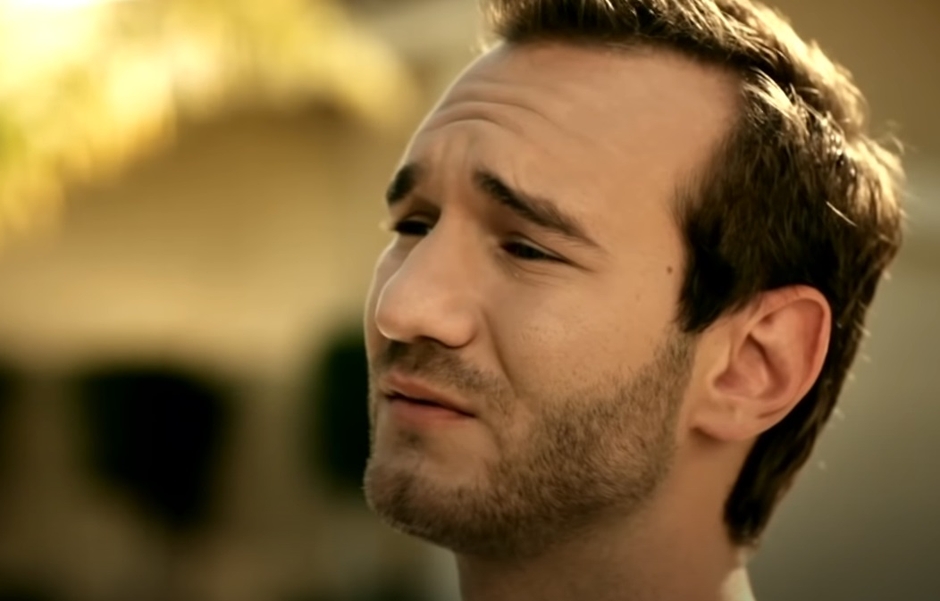 nick, nick vujicic, something more, more, inspiration, motivation, christian, evangelist, song, by, and, singer, tyrone wells, full sail university,viral video,most shared,touching song