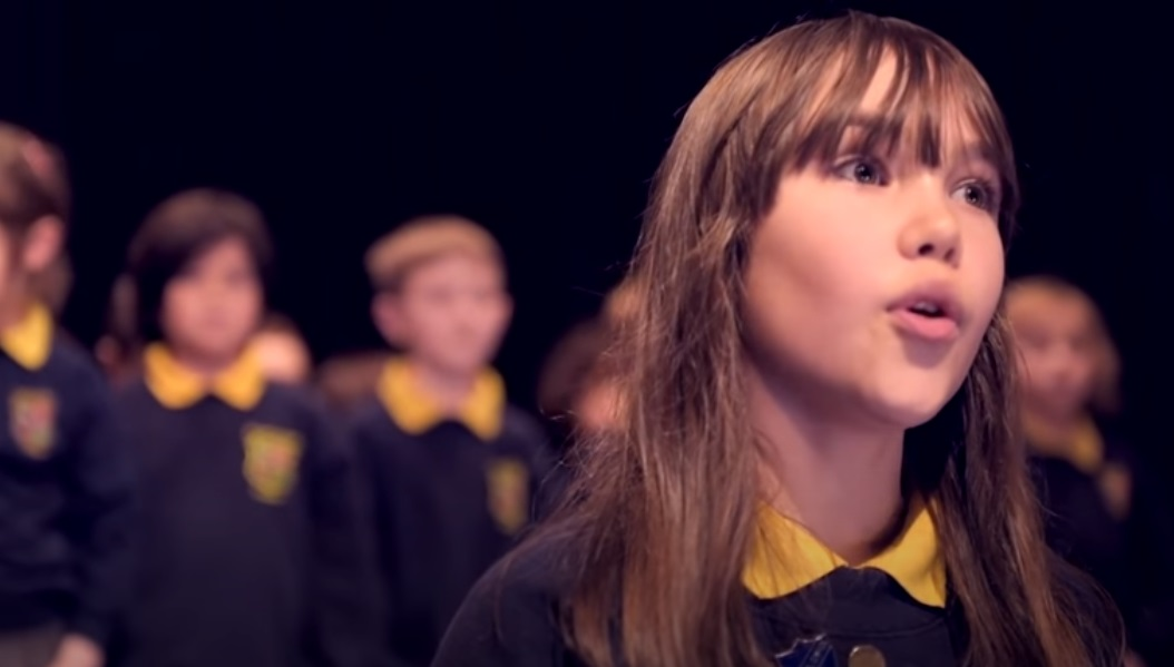 Christmas, Song, Hallelujah, Performance, Kids, Special Needs,