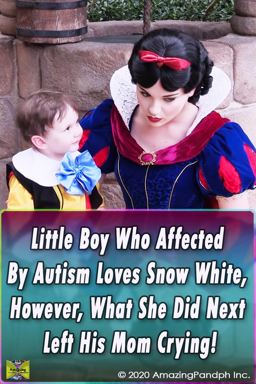 little boy,video,viral,must watch,autism,snow white,disney world,amazing,love,cute,beautiful