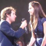 Best audience duet with Josh Groban