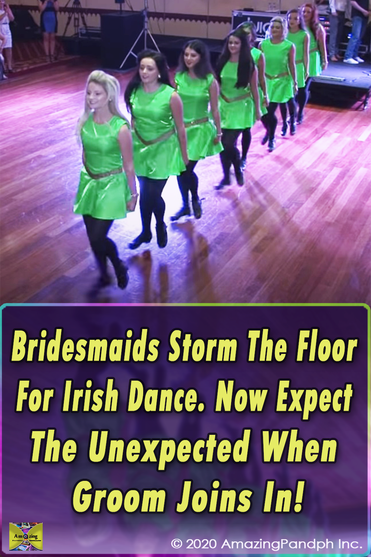 dancing groom, surprise dance at wedding, groom shocks everyone with dance, wedding dance, irish dance, shuffling dance, irish dancing at wedding, first dance,viral,video,amazing,viral video,most viewed