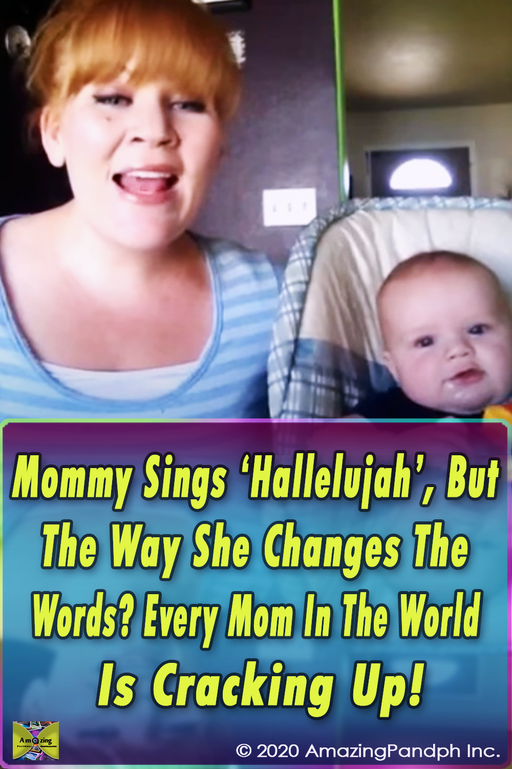 Hallelujah, Mommies, Parenting, Dad, Cover, Daddy, Singing, Music , mom, funny, comedy, kids, baby, sleep, rewrite, shannon abbott, mommy rendition