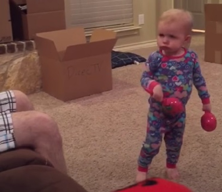 funny, child, toddler, girl, toys, no, lubbock, texas, texas tech, red raiders, purdy, laugh, attitude, house, tv, couch,viral video,best of,funny video,funny kid,funny little girl,little girl,funniest video