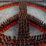 These Prisoners Form a line to Honor Michael Jackson
